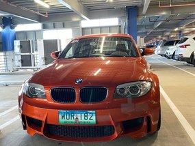 Orange Bmw 1-Series 2013 for sale in Manila