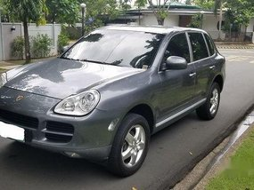 Grey Porsche Cayenne 2006 for sale in Manila