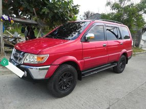 Red Isuzu Sportivo 2010 for sale in Baliuag