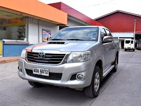 Toyota HiLux E 2014 MT 648t Negotiable Batangas Area Manual