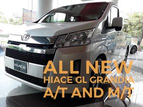 ALL NEW HIACE GL GRANDIA DIESEL A/T AND M/T