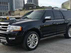 Black Ford Expedition 2016 for sale in Pasig