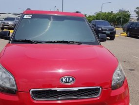 Red Kia Soul 2009 for sale in Consolacion
