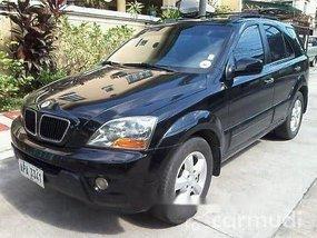 Selling Black Kia Sorento 2007 in Manila