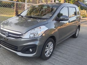 Grey Suzuki Ertiga 2017 for sale in Manila