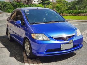 Blue Honda City 2005 for sale in Automatic