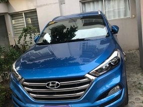 Selling Blue Hyundai Tucson 2017 in Pasig