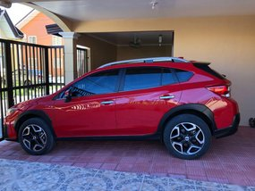 Red Subaru Xv 2018 for sale in Automatic