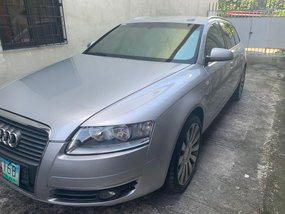 Silver Audi A6 2009 for sale in Quezon