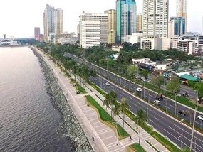 DPWH starts repairs on several major parts of Roxas Boulevard