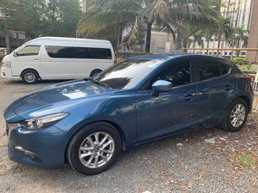 Blue Mazda 3 2017 for sale in Quezon