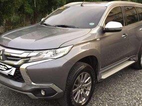 Sell Grey 2016 Mitsubishi Montero sport in Urdaneta