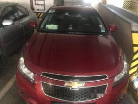 Sell Red 2012 Chevrolet Cruze in Manila