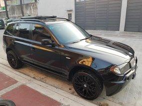 Black Bmw X3 2013 for sale in Quezon City
