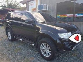 Black Mitsubishi Montero Sport 2014 at good price for sale in Calamba City