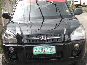 Sell Black 2007 Hyundai Tucson in General Trias