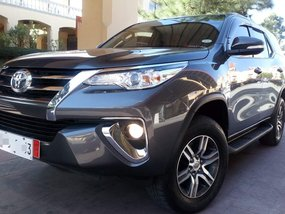 Almost Brand New 2017 Toyota Fortuner G AT