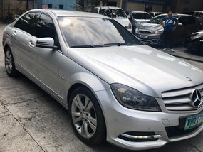 2013 Mercedes-Benz C200 Avantgarde Edition C