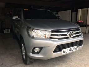 Sell 2016 Toyota Hilux in Quezon City