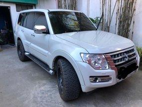 Pearl White Mitsubishi Pajero 2018 for sale in Tuguegarao City