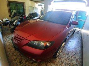 Selling Red Mazda 3 2006 in Manila