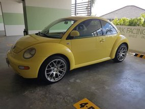 Yellow Volkswagen Beetle 2004 for sale in Quezon City