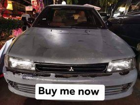 Selling Grey Mitsubishi Lancer 1996 in Imus