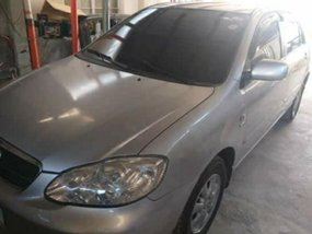 Sell Silver 2005 Toyota Altis in Manila
