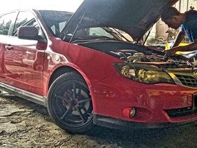 Sell Red 2008 Subaru Impreza in Quezon City