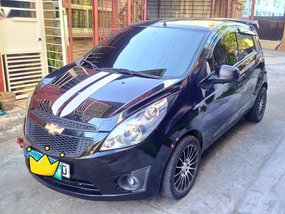 Black Chevrolet Spark 2012 for sale in Manila