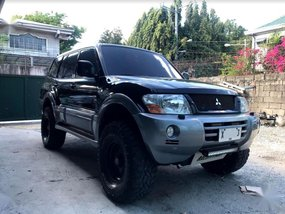 Black Mitsubishi Pajero 2004 for sale in Mandaluyong