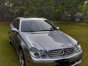 Selling Grey Mercedes-Benz CLK 2004 in Manila