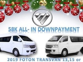 Sell White 2019 Foton View in Makati