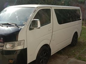 White Foton View 2015 for sale in Silang