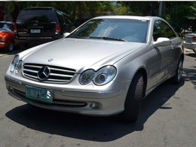 Silver Mercedes-Benz CLK 2005 for sale in Makati
