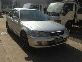 Silver Honda City 2002 for sale in Manila