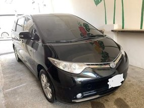 Black Toyota Previa 2008 for sale in Quezon City