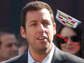 Which cars does Adam Sandler currently own?