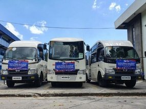 Hino PH provides shuttle services through partnership with DOTr