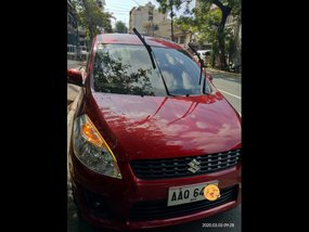 Red Suzuki Ertiga 2014 SUV / MPV at 50000 for sale in Manila