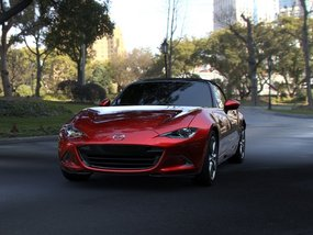 Why is the Mazda MX-5 called Miata in the U.S.?