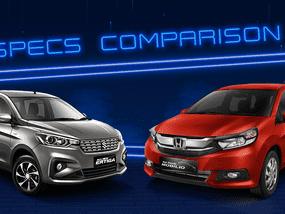 2020 Suzuki Ertiga vs Honda Mobilio Comparison: Spec Sheet Battle