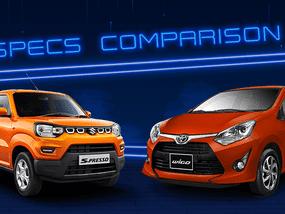 2020 Suzuki S-Presso vs Toyota Wigo Comparison: Spec Sheet Battle