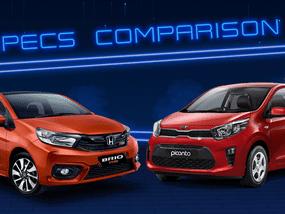 2020 Kia Picanto vs Honda Brio Comparison: Spec Sheet Battle