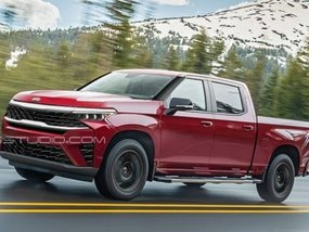 Kia pickup truck rendering shows us the biggest tiger-nose grille