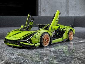 New Lamborghini Sián Lego set will buy you a 40-inch Android TV