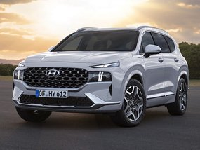2021 Hyundai Santa Fe unveiled in official images: new platform, tech details