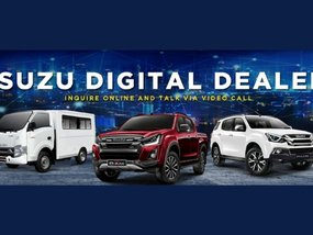You may now inquire for an Isuzu vehicle through video call