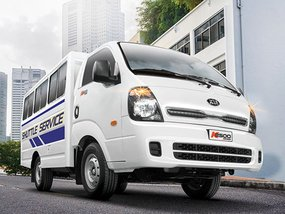 Kia K2500 Karga is a flexible hauler that can also fit 19 passengers