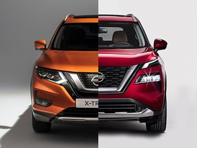 2021 Nissan X-Trail Old vs New: Spot the differences